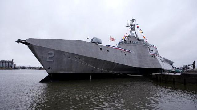 Chiến hạm tuần duyên tàng hình LCS2 - một thiết kế siêu hầm hố của Austal.