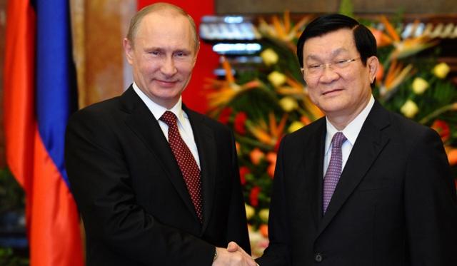 Tổng thống Putin tuyên bố nước Nga sẽ cung cấp thêm những thiết bị quân sự hiện đại cho Việt Nam
