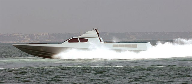 Loại thuyền cao tốc 'tàng hình' mới mà SBS được cho là đang thử nghiệm
