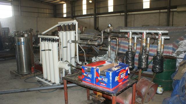 Hệ thống tuần hoàn khí độc lập (CCD AIP system)