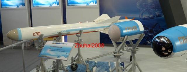 Biến thể xuất khẩu C-701 của tên lửa YJ-7