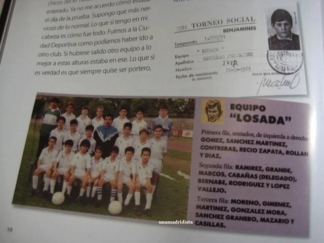 Casillas những ngày đầu gia nhập lò đào tạo của Real Madrid
