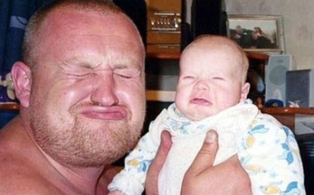 Cười vỡ bụng với chùm ảnh cha nào con nấy