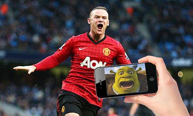 Hình ảnh thực của Wayne Rooney