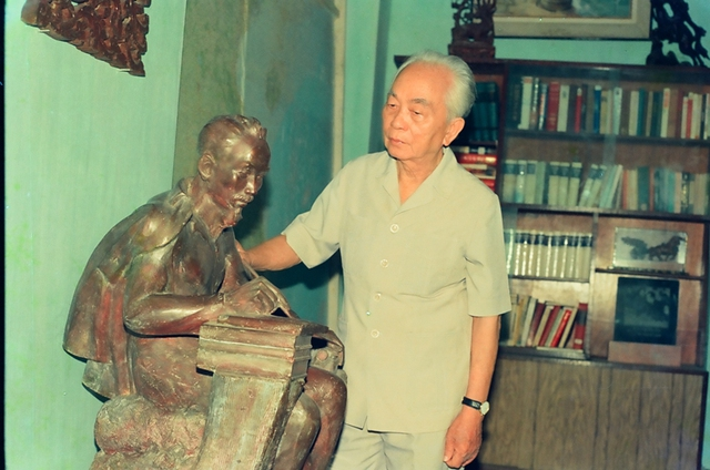 Đại tướng Võ Nguyên Giáp - người học trò xuất sắc của Chủ tịch Hồ Chí Minh (Ảnh: Trần Hồng)