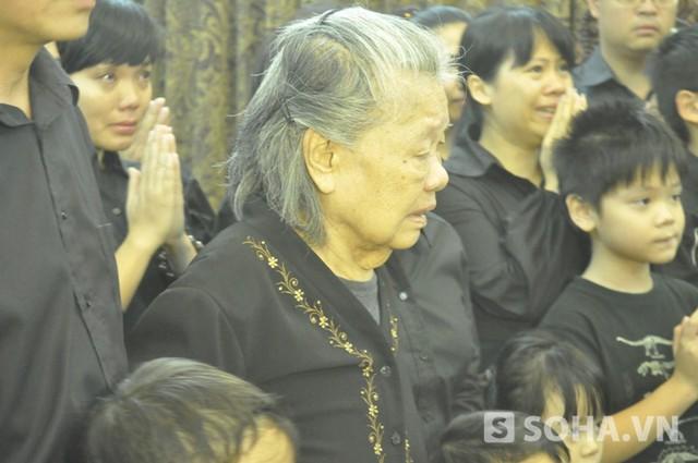 Bà Đặng Bích Hà - Phu nhân của Đại tướng Võ Nguyên Giáp (Ảnh: Tuấn Nam)