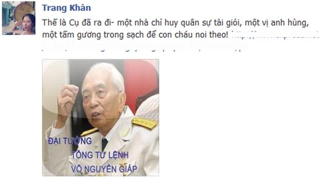 Người mẫu Trang Trần: