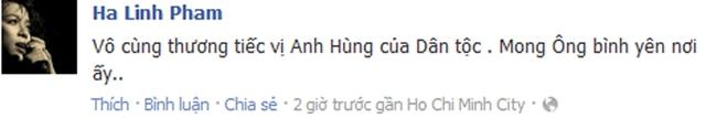 Nữ ca sĩ Hà Linh: