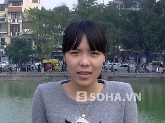 Bức ảnh nạn nhân Phan Thị Hồng Vân khi còn sống
