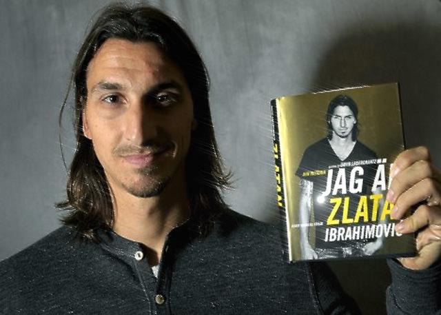 Ibrahimovic tiết lộ nhiều bí mật trong cuốn tự truyện của mình