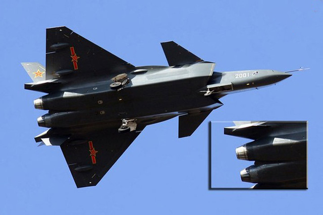J-20 được Trung Quốc mệnh danh là thế hệ máy bay thứ 5, có thể sánh ngang với các máy bay hiện đại hàng đầu của Mỹ và Nga.