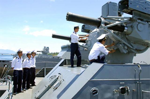 Hệ thống phòng không Palma trên tàu Gepard 3.9 Việt Nam