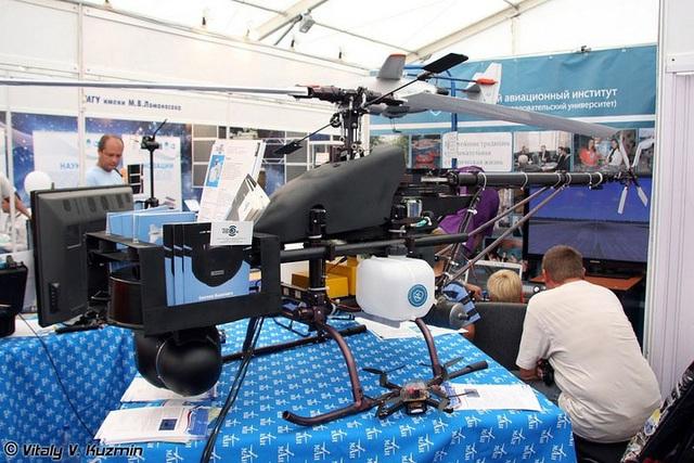 Một nguyên mẫu trực thăng trinh sát không người lái rất hiện đại.