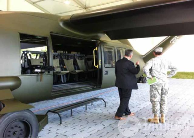 Hình ảnh mô phỏng máy bay V-280 Valor trong quân đội Mỹ được giới thiệu trước quan chức quân đội nước này.