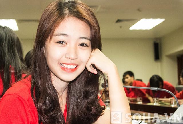 Sự kiện này còn có sự góp mặt của hot girl Mẫn Tiên.