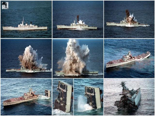 Sức mạnh kinh hoàng của ngư lôi Mk.48 ADCAP