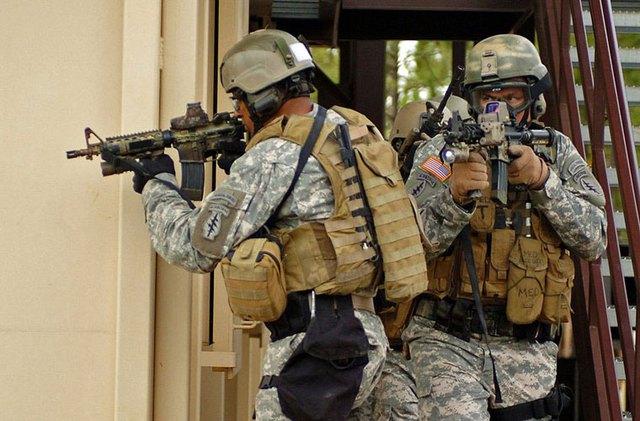 Lực lượng đặc nhiệm mũ nồi xanh (Green Berets) của Lục quân Mỹ là một trong những đơn vị đặc biệt tinh nhuệ nhất của nước này.