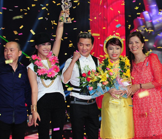 Thảo My và giây phút đăng quang The Voice 2013.