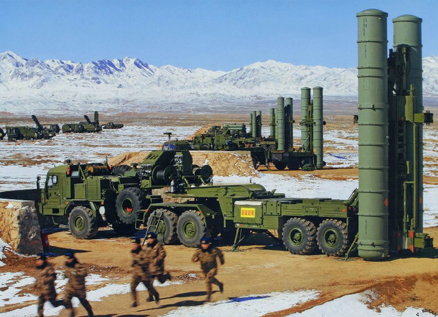 Vùng Viễn Đông sát biên giới Trung Quốc được ưu tiên tổ hợp S-400 Triumf