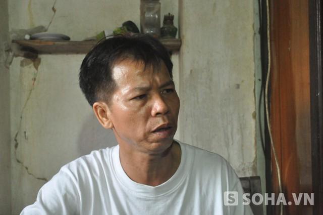 Ông Nguyễn Thanh Chấn trong buổi nói chuyện với báo chí chiều 7/11 (Ảnh: Tuấn Nam)