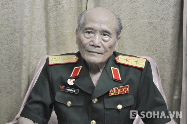 Trung tướng Phạm Hồng Cư (Ảnh: Tuấn Nam0