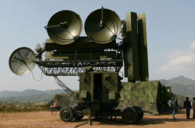 Đài radar nhìn vòng P12 của Việt Nam