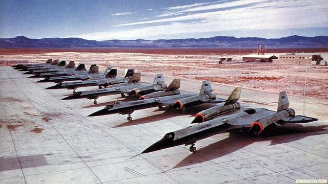 Máy bay trinh sát SR-71 của Mỹ