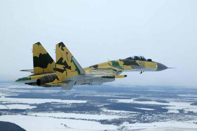 Máy bay hiện đại Su-35 sẽ giúp Không quân Nga giành thế thượng phong trước Trung Quốc