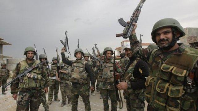 Lính chính phủ Syria (Ảnh minh họa)