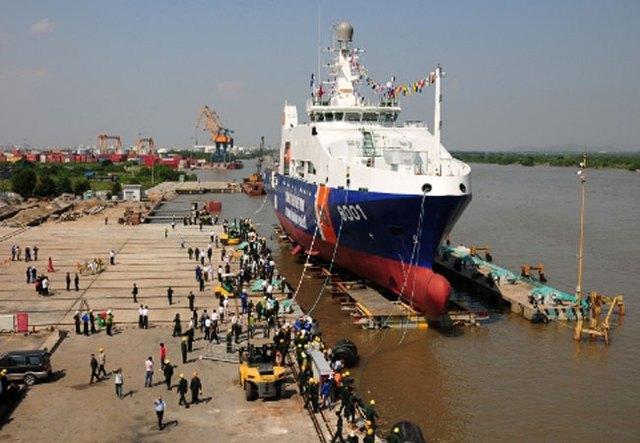 Tàu cảnh sát biển 8001 - sản phẩm của hợp tác quốc phòng Việt Nam - Hà Lan