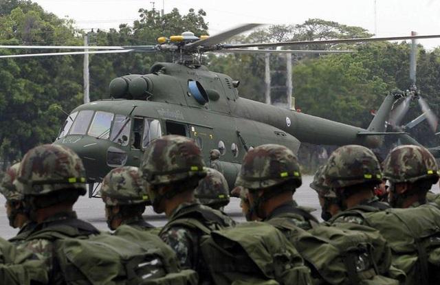 Trực thăng Mi-17V-5 trong biên chế lục quân Thái Lan