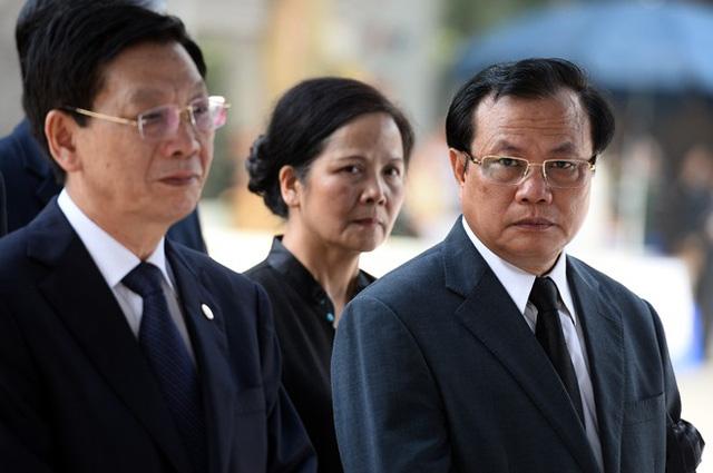 Trực tiếp: Các vị lãnh đạo cao cấp nhất đã vào viếng Đại tướng