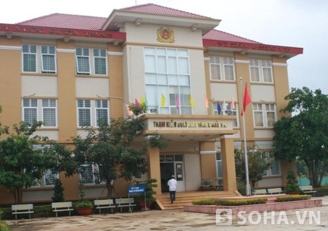 Trạm CSGT Suối Tre thị xã Long Khánh, Đồng Nai nơi xảy ra vụ nổ súng làm thiếu tá Trần Văn Sơn tử vong