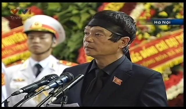 Ông Võ Điện Biên cảm ơn Đảng, Nhà nước và Nhân dân.