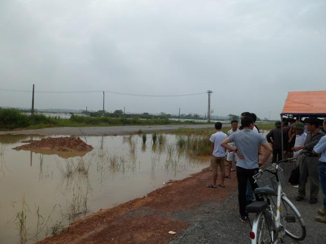 Địa điểm nơi xảy ra vụ đuối nước thương tâm
