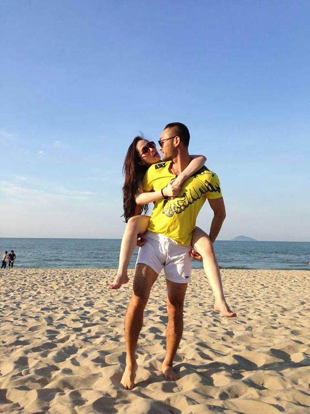 Quỳnh Nga đắm đuối hôn Doãn Tuấn trên biển