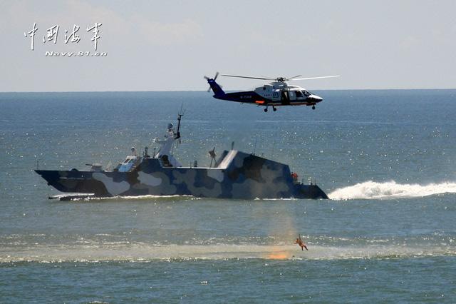 Type 022 là tàu tên lửa tàng hình thế hệ mới của Trung Quốc, có khả năng tác tấn công mục tiêu trên không, trên bộ và trên biển.