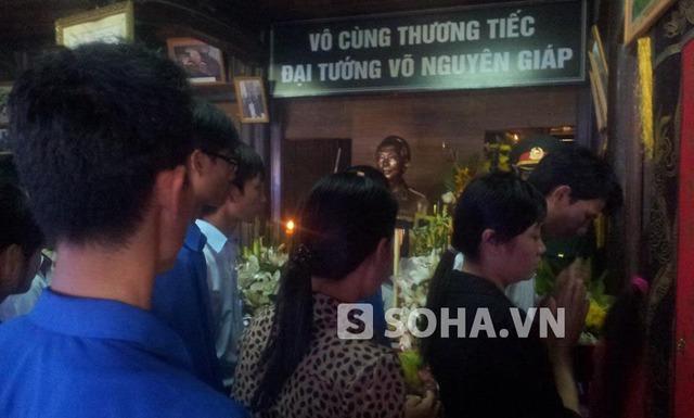 Hậu duệ Vua Minh Mạng đến viếng Đại tướng Võ Nguyên Giáp
