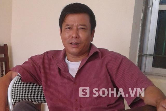 Ông Nguyễn Bá Quế, Trưởng thôn Minh Tân