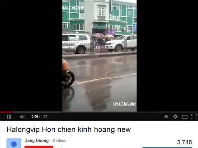 Video clip do trang HalongXXX đưa lên youtube được nhiều người quan tâm.