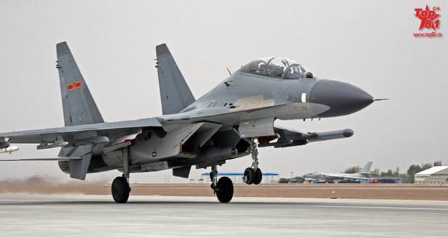 Chiến đấu cơ Su-30MKK của Trung Quốc