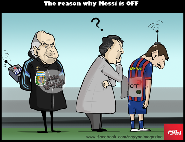 Argentina đã OFF Messi mất rồi