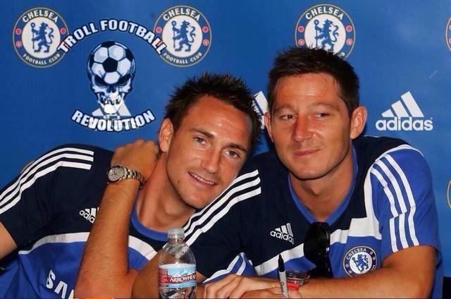 Cuộc tình chưa bao giờ tiết lộ giữa Terry và Lampard
