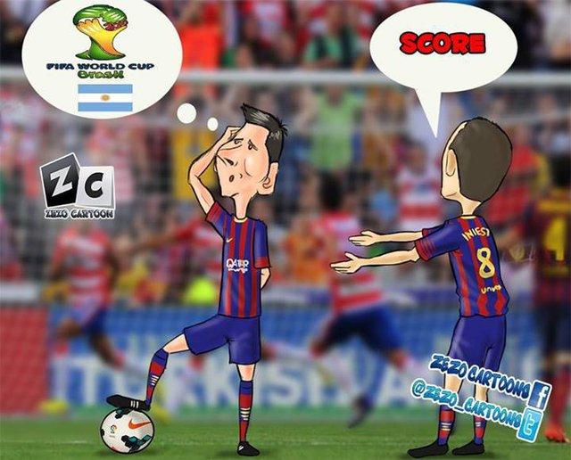 Phải chăng Messi đang mãi nghĩ World Cup mà quên ghi bàn?