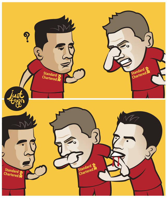 Lý do thật sự khiến Gerrard khóc!