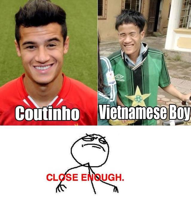 """Coutinho và """"thánh"""" tán gái Việt Nam, giống đấy chứ!"""