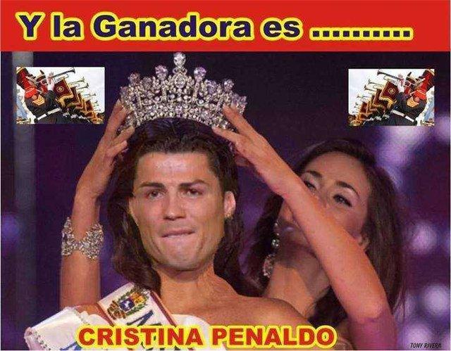 Chúc mừng Ronaldo cho ngày vui của anh