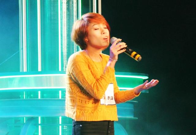 Hoàng Mai - thí sinh có giọng hát khá tốt được giấu kỹ tới vòng Ngôi nhà chung.