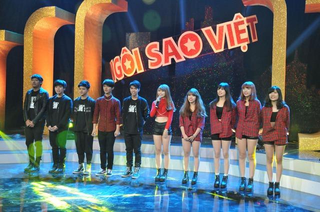 Chất lượng thí sinh của Ngôi sao Việt được đánh giá khá cao.