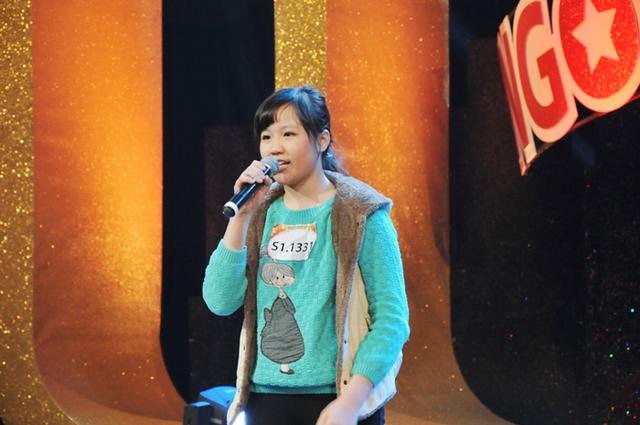 Dương Minh Anh là 1 tài năng nhí đáng gờm của cuộc thi.